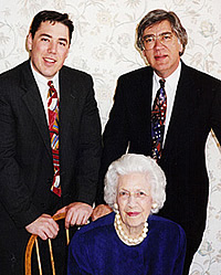 Pictured: (front) Mary Nell Boyd McIntyre, (L) James Boyd McIntyre, Jr., (R) James Boyd McIntyre.